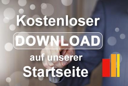 Kostenloser Download auf der Startseite