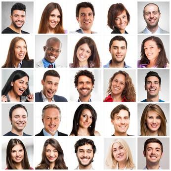 25 zufriedene Kundenportraits RZ